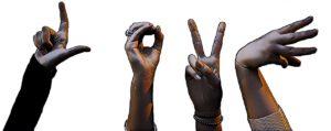 La langue des signes comme moyen d'expression
